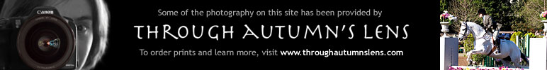 Some of the photography on this site has been provided by Through Autumn's Lens